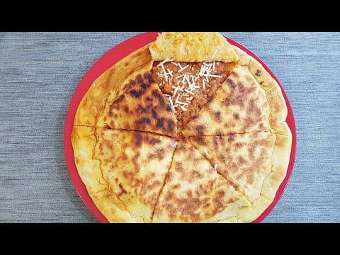 recette-de-pizza-kabyle-(timkhele3th)-galette-de-semoule-farcie
