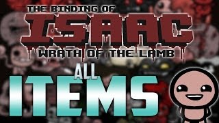 THE BINDING OF ISAAC ITEMS