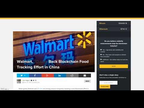 BITCOIN!!!! TAX REFORM!! Walmart backing blockchain. AMAZON????
