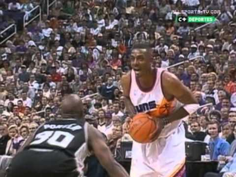 Phoenix Suns - San Antonio Spurs [NBA Playoff 99/00. Round 1 Game 3]