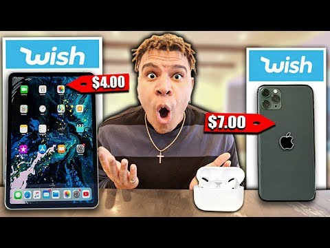 I Bought All The APPLE Products on Wish... (under $100)