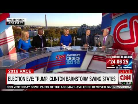 """Election Eve: """"There is a crack in the blue wall"""" 