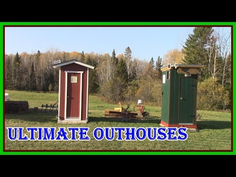 THE RAINBOW TOILET SEAT COVER MYSTERY SOLVED - NORTHERN ONTARIO OFF GRID  SOLAR  UNTIMATE OUTHOUSES