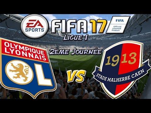 FIFA 17 Ligue 1 OL - SM CAEN [2ème Journée]