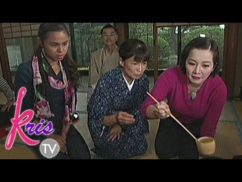 Kris TV: Matcha Green Tea-mixing And Japanese Tea Ceremony
