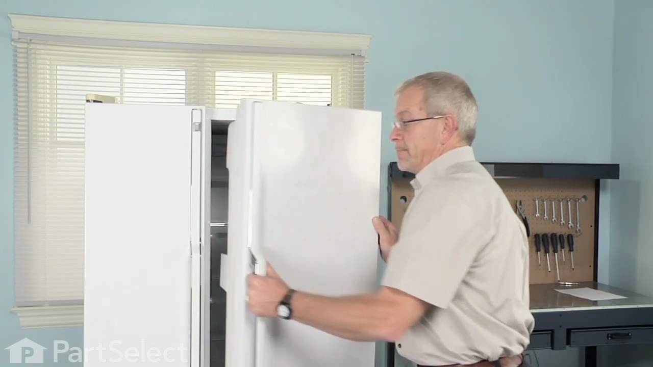 Refrigerator Repair - Replacing the Door Closing Cam (GE Part# WR2X4901)