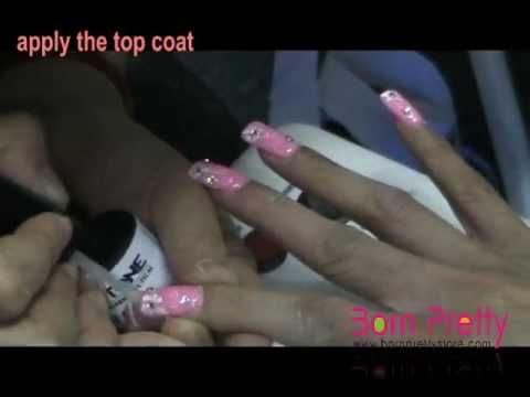 BornPrettyStore.com UV Gel Drawing Nail Art DIY Tutorial