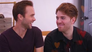 SHANE DAWSON AND RYLAND ADAMS GIVING EACH OTHER THE LOOK OF LOVE