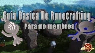 OSRS | Guia Basica Para subir Runecrafting en F2P | No-Member  - VictorRs07