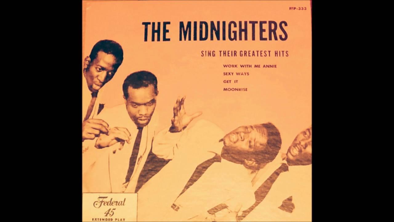 Hank Ballard & The Midnighters -SEXY WAYS - YouTube