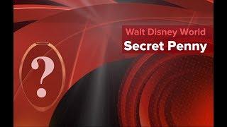 Secret Pressed Penny in Epcot 2017
