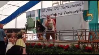 Andreas Gabalier Zuckerpuppen live - An.DE Cover-Auftritt Fahnenweihe