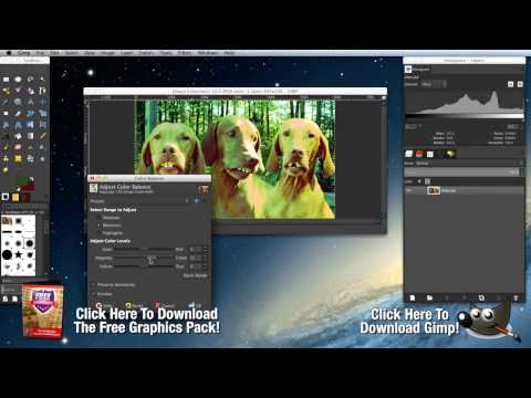 How to Use Gimp   Free Photoshop Alternatives