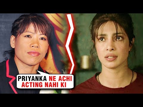 Mary Kom UPSET With Priyanka Chopra For NOT Doing Justice To Her Role