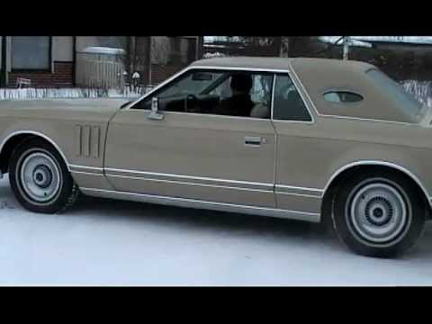 lincoln continental 39 78 old cold start driving around. Black Bedroom Furniture Sets. Home Design Ideas
