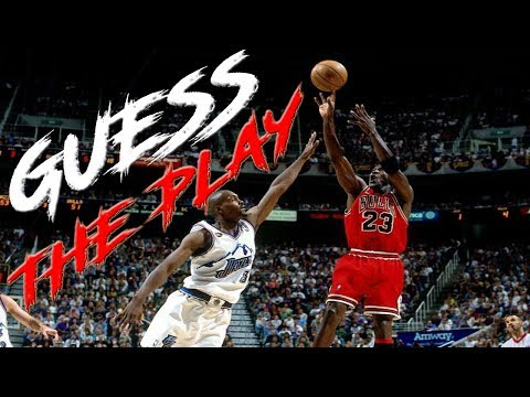 GUESS THAT NBA PLAY JUST BY THE AUDIO!