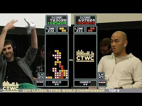 Top 8 - 2017 Classic Tetris World Championship Episode 3