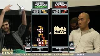 Top 8 - 2017 Classic Tetris World Championship Episode 3