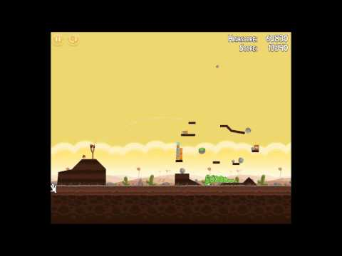 Angry Birds Walkthrough Level 5-5 [3 Stars] from YouTube · Duration:  39 seconds