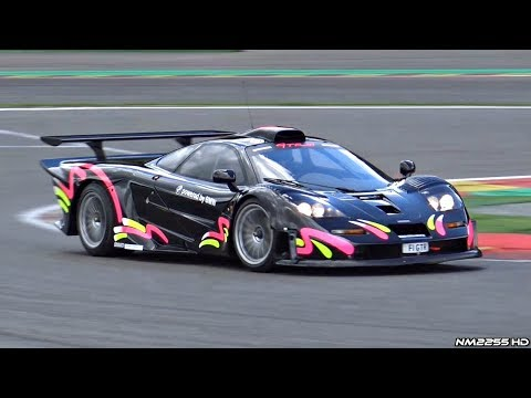 Road Legal McLaren F1 GTR Longtail in Action @ Spa-Francorchamps - Lovely Sounds!