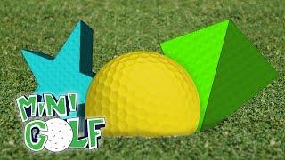 НЕРЕАЛЬНЫЙ ГОЛЬФ С ДРУЗЬЯМИ - ИГРАЕМ ЖЕЛУДЕМ ► Golf With Friends (Мини игры,Угар)