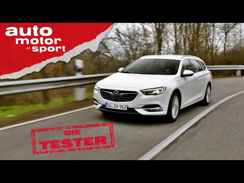 Opel Insignia Sports Tourer: Was kann der Diesel-Kombi? - Test/Review | auto motor & sport