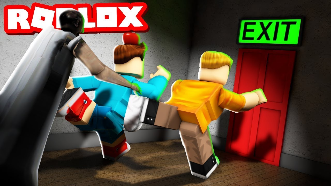 Escape Evil Grandma S House In Roblox Youtube - Escape Grandpas Basement Evil Grandma And Grandpa Visit The Pals
