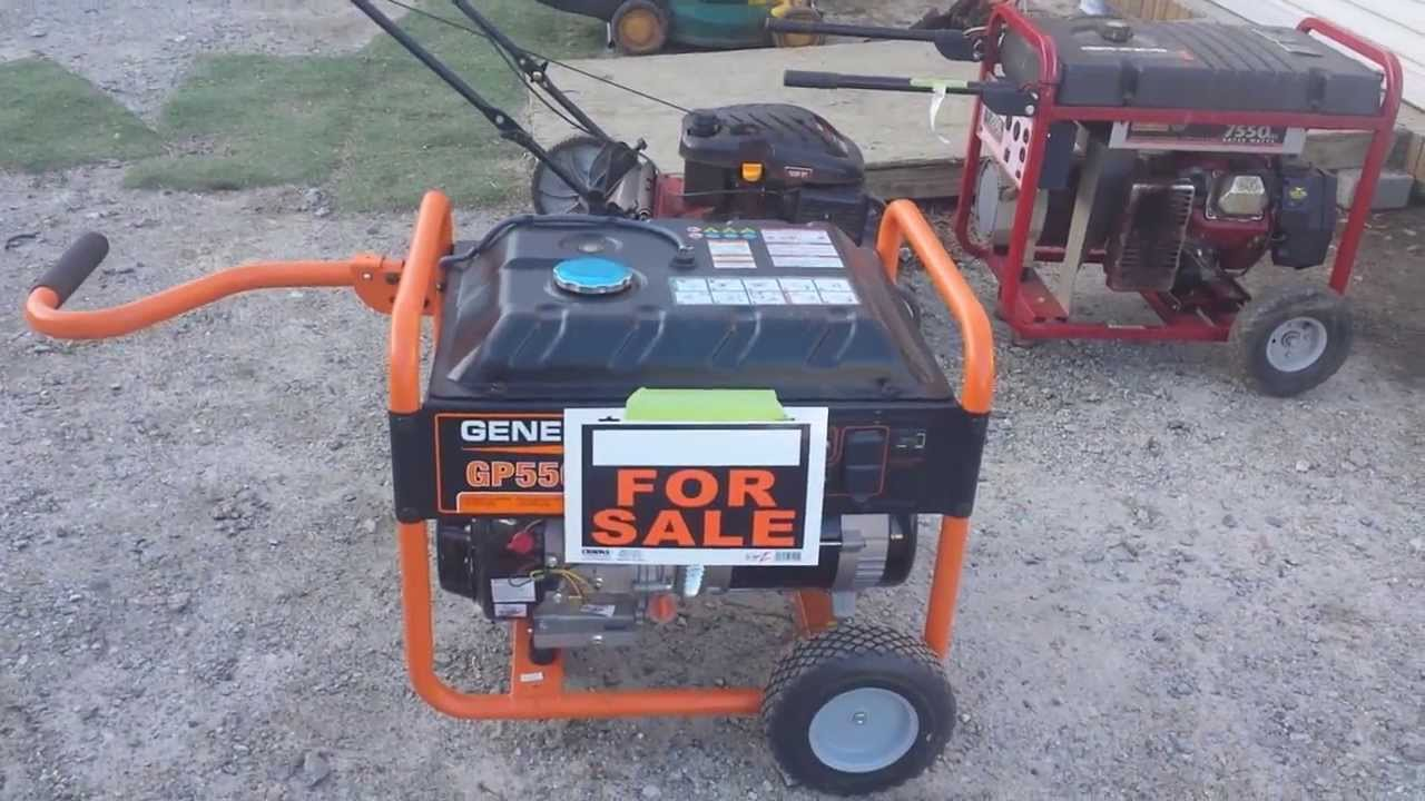 Craigslist generator for sale in hendersonville nc at for Outdoor tools for sale