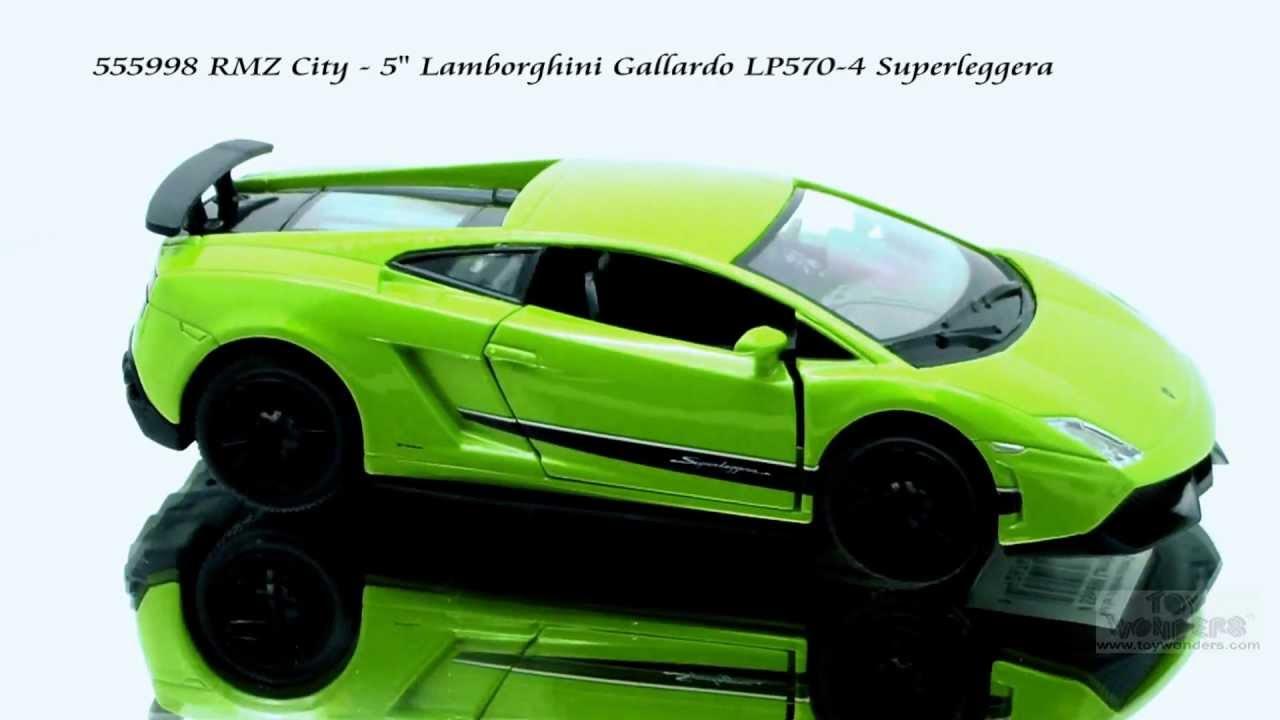555998 Rmz City Lamborghini Gallardo Lp570 4 Superleggera Diecast