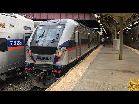 Train Trip: MARC Commuter Rail Washington D.C. To Baltimore (WAS-BAL)