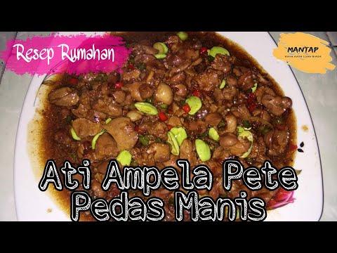 #kuliner-ati-ampela-pete-pedes-manis-#masakanrumahan-#kulinerindonesia