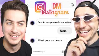 ON ANALYSE VOS DEMANDES INSTAGRAM ! ft. Mahdi Ba