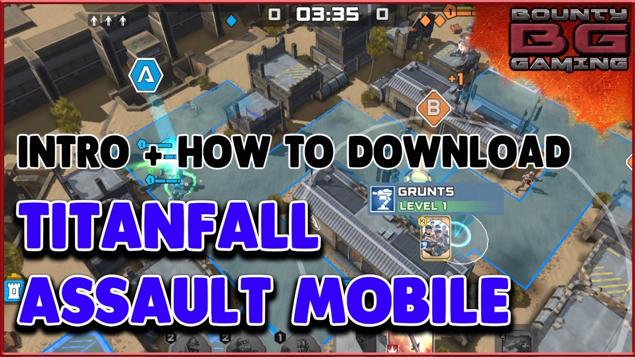 TITANFALL ASSAULT IOS + ANDRIOD MOBILE GAME | HOW TO DOWNLOAD APK | APP STORE | Bounty Gaming  #Smartphone #Android