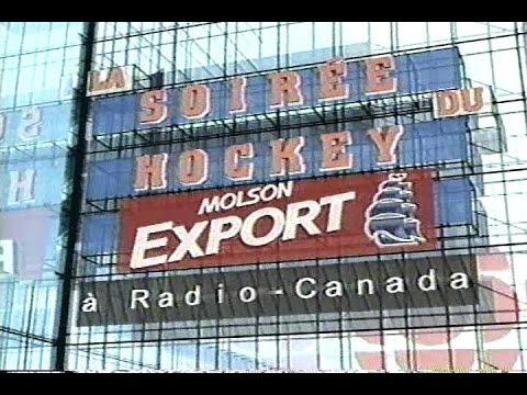 Générique de La Soirée du Hockey Molson Export à Radio Canada - 2001