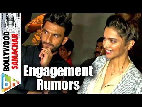 Ranveer Singh On Engagement Rumors With Deepika Padukone