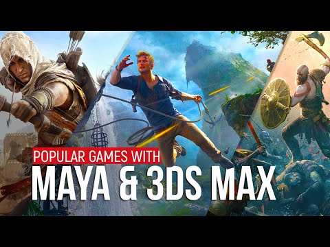 Popular Games made using Autodesk Maya and 3Ds Max