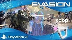 Evasion / Playstation  VR ._. First impression  /deutsch /german /live
