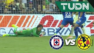 ¡Atajadón de Ochoa! | Cruz Azul 1 - 0 América | Liga Mx - AP 19 - J13 | TUDN