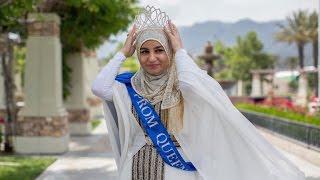 Muslim Girl Zarifeh Shalabi Crowned Prom Queen At Fontana