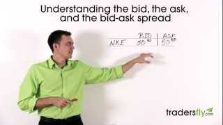 Basics of the Bid, the Ask, and the Bid-Ask Spread in Stock Trading