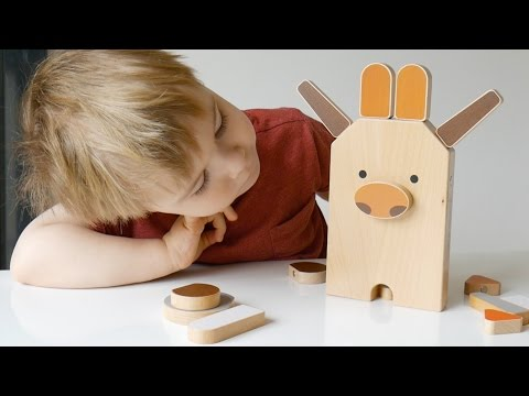 Shusha Zoo: Magnetic Wooden Animal Building Set Review - TheDadLab