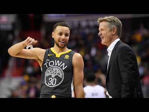 Steve Kerr Says Curry Will Miss 1st Round Playoffs! 2017-18 Season