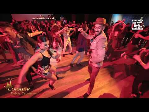 Panagiotis & Myrto - social dancing @ Cologne Salsa Congress 2018