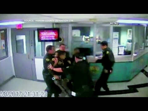 Deputies Fight In Front of Inmates at Detention Center