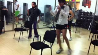 SEXY DANCE EN SILLA CON EL PROF RENE GALAN