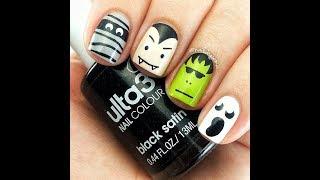 Halloween nails!Nails tutorial