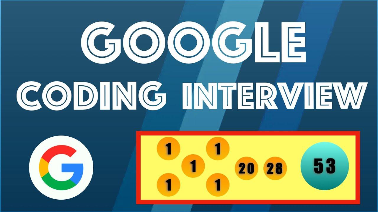 Google Interview Question