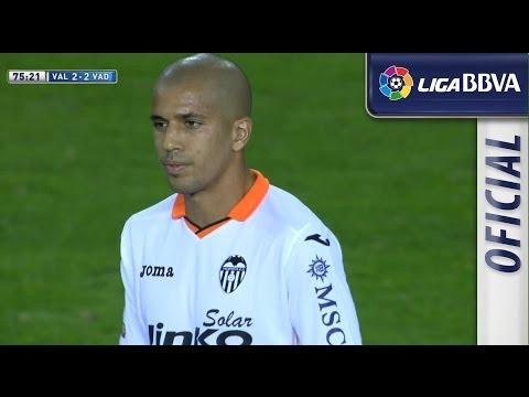 Gol de Feghouli (2-2) en el Valencia CF - Real Valladolid - HD