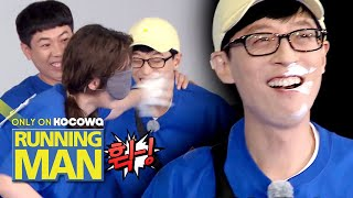 Jae Seok let So Min's hand touch his face [Running Man Ep 509]