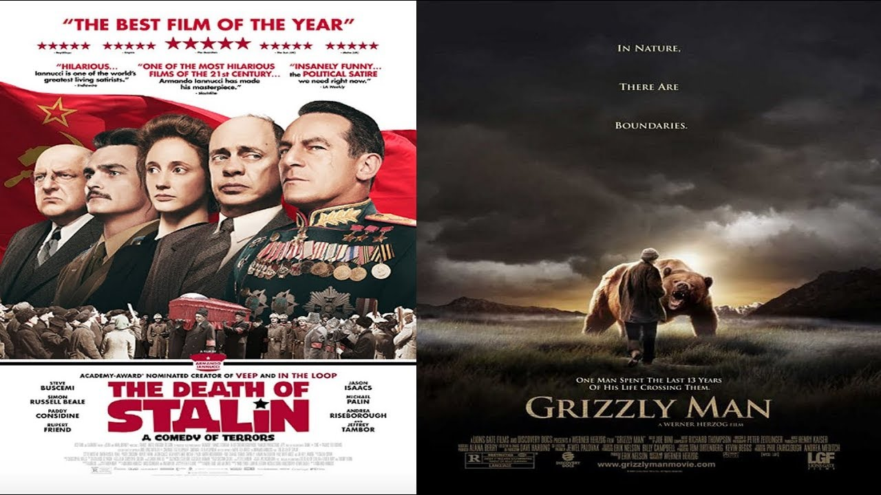 Download 'The Death Of Stalin' & 'Grizzly Man' blu ray unenvelopeings, gone wrong  ...
